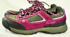 womens Lands End gray purple running shoes size 6B quality style fit brand new!