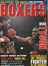 """BOXERS MAGAZINE TREVOR BERBICK-MIKE TYSON """"FIGHTS,FACTS,ACTION"""" VOLUME #2 1996"""