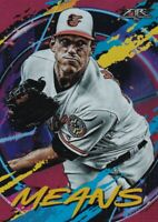 2020 TOPPS FIRE FLAME PARALLELS JOHN MEANS BALTIMORE ORIOLES B1984