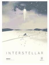 INTERSTELLAR IMAX POSTER PRINT LIMITED EDITION MATTHEW MCCONAUGHEY MOVIE mondo