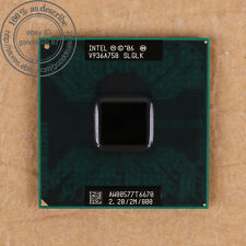 Intel Core 2 Duo T6670 - 2.2 GHz (AW80577GG0492MH) SLGLK CPU Processor 800 MHz