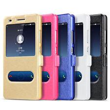 For Huawei Y3 Y5 Y6 Y7 2017 Case Flip Magnetic Slim PU Leather Wallet Flip Cover
