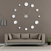 Acrylic Wall Clock Modern Watches 3D Sticker Round Designed Home Decorations New