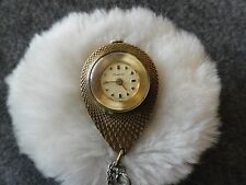 Necklace Pendant Watch - Problem Vintage Swiss Made Endura Wind Up