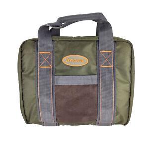 hAohAnwuyg Fishing Lure Bag ,Utility Binder Fishing Tackle Bag,Portable Waterproof Nylon Fishing Tackle Lure Baits Hooks Storage Bag Pouch 3#