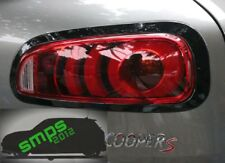 New Mini Cooper S JCW F54 Clubman tail light covers gloss Black de-chrome