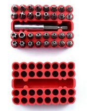 Tamper Proof 33 pc Security Bit Set Phillips Torx Hex Star Spanner Screwdriver