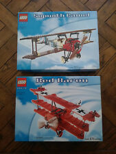Lego Red Baron #10024 + Sopwith Camel #3451 (WWI Dogfight) - Brand New Unopened
