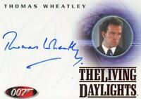 James Bond in Motion 2008 Thomas Wheatley as Saunders Autograph Card A83