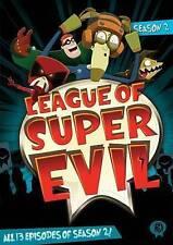 League of Super Evil: Season 2 (DVD, 2014, 2-Disc Set) New