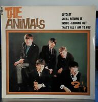 "EP 45T The Animals   ""Inside, looking out - Outcast"" - (TB+/TB+)"