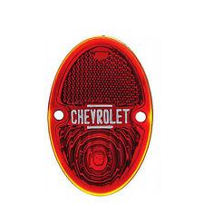33 34 35 36 Chevy Chevrolet Pickup Truck Red Tail Light Glass Lens 1933-1936