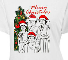 THE GOLDEN GIRLS MERRY CHRISTMAS - Womens T-Shirt - stay holiday betty white bea