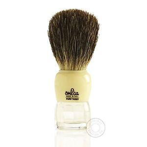 Omega 63170 Pure Badger Hair Shaving Brush