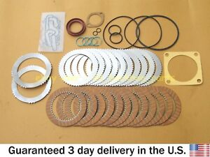 JCB BACKHOE - TRANSMISSION SHUTTLE KIT WITH PLATES & SEALS (445/12307 445/03205)