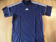 ADIDAS schönes Basic Shirt blau Gr. 6  TOP MC516