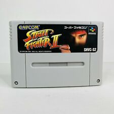 Street Fighter II 2 Nintendo Super Famicom SFC Authentic Tested Clean Works
