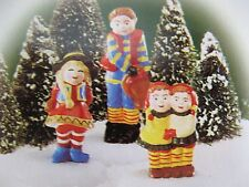 Dept 56 - North Pole - Photo With Santa - Nib - Set of 3 - #56444