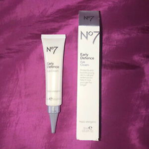 BNIB Boots. No7 Early Defence Eye Cream, Hypo-Allergenic, 15ml RRP £15