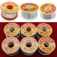 63/37 Rosin Core Solder Tin Lead Flux 2% Soldering Iron Wire 0.5-2.0mm 50/100g
