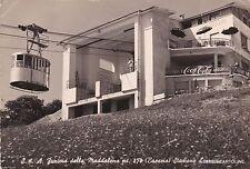 BRESCIA - FUNIVIA DELLA MADDALENA - Stazione d'arrivo 1957 - insegna COCA COLA
