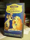 VHS LILLI E IL VAGABONDO Walt Disney. Febbraio 1998