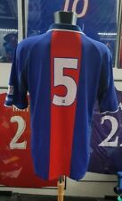 Maillot jersey trikot shirt vintage 2000 2001 luccin PSG Paris worn porté 00 01