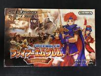 GameBoy Advance GBA Fire Emblem The Binding Blade (Fuuin no Tsurugi) JP USED