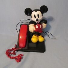 Vintage Mickey Mouse Telephone Disney Touch Tone AT&T Deal Of The Day