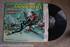 THUNDERBOLT JAMES BOND 007 Movie Soundtrack John Barry Tom Jones RECORD LP  VG+