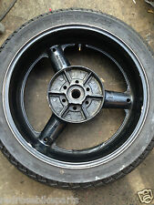 1998 SUZUKI GSXR 600 W Rear Wheel with Wet Tyre Dunlop KR544 GSXR600 SRAD