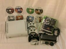 Microsoft Xbox 360 Bundle with 17 Games and Accessories