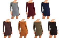 Kurze Normalgröße Damenkleider aus Viskose