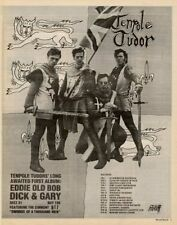 Tenpole Tudor Tour advert 1981