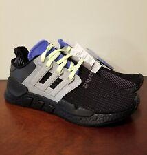 Adidas EQT Support 91/18 Boost Men's Black Casual Running Shoes Sz 10 CG6170
