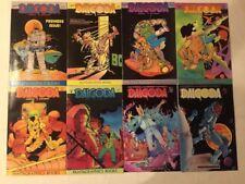 DALGODA #1-8 COMPLETE RUN SET FANTAGRAPHICS BOOKS COMICS (1984)