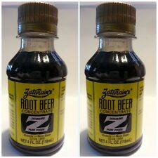 2 PACK ZATARAIN'S ROOT BEER EXTRACT MAKES 10 GALLONS! straight from new orleans