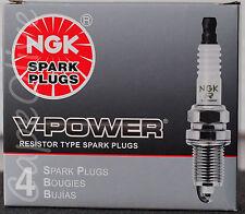 4 PCS - NGK 7990 V Power Spark Plugs (BKR6EYA)
