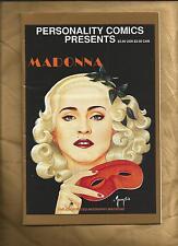 Personality Comics Presents 1 Madonna 1991 signed limited edition US comics