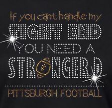 Pittsburgh Steelers Football #11 Rhinestone Iron on Transfer             Q5FJ