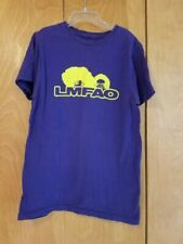 LMFAO Party Rock Slim-Fit T-Shirt Purple Size Small- Hot Topic