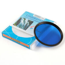 49mm Full Blue Color Conversion Lens Filter for Canon Nikon Sony DSLR Camera M49