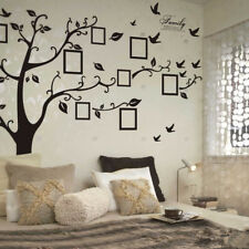Family Tree Wall Decor Decal Sticker Large Vinyl Photo Picture Frame Removable