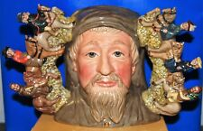 LARGE ROYAL DOULTON CHARACTER JUG GEOFFREY CHAUCER D7029 LIMITED WITH CERT