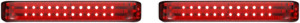 Custom Dynamics PB-SBSEQ-HD-CR Probeam Sequential LED Saddlebag Lights Harley