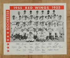 1955 Rochester Red Wings Team Photo ORIGINAL