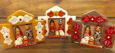 Nativity Set Christmas Ornaments.