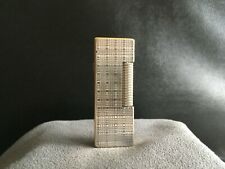 ALFRED DUNHILL ROLLAGAS - POCKET LIGHTER - SILVER PLATED - 1970 - SWISS MADE