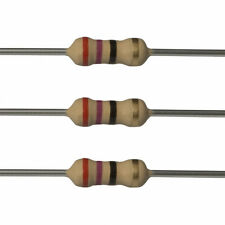 100 x 27 Ohm Carbon Film Resistors - 1/4 Watt - 5% - 27R - Fast USA Shipping