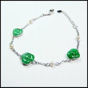 【KOOJADE】 Emerald Green Jadeite Jade Bracelets《Grade A》